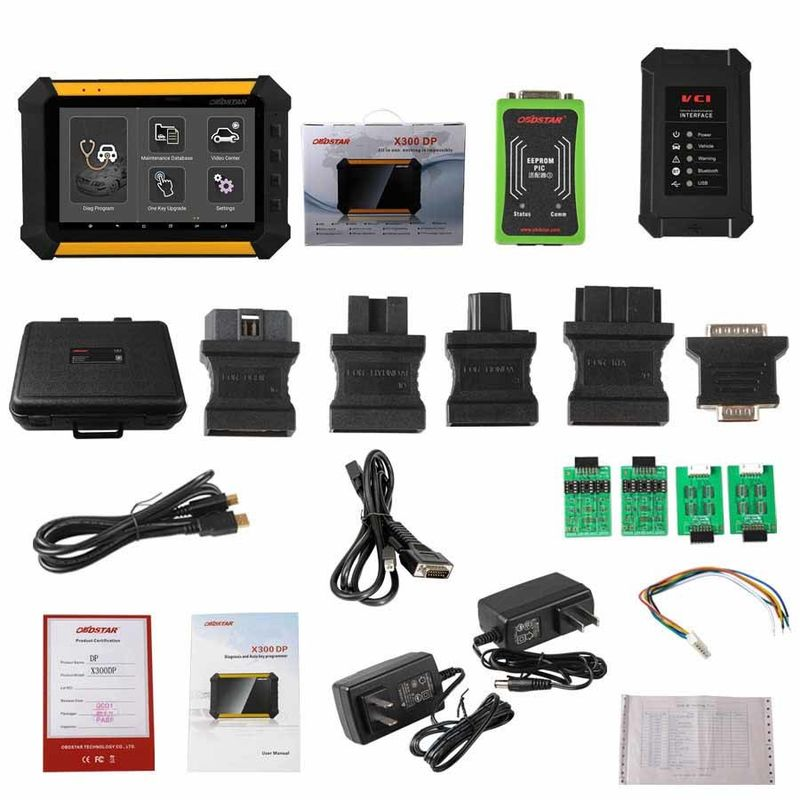 OBDSTAR X300 DP X-300DP PAD Tablet Key Programmer Support Toyota G & H Chip All Keys Lost